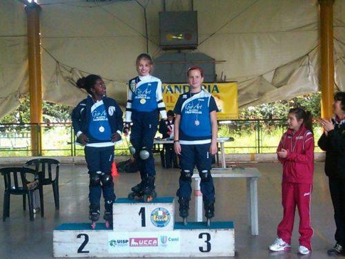 Lucca 2012 : Campionato Regionale Toscano UISP pattinaggio freestyle Style Slalom e Speed Slalom – 15 aprile