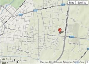 Vista strade PalaIPER googlemaps