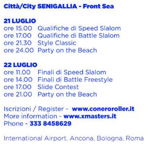 WSSA Conero Roller Battle 2012 : FreeStyle a Senigallia 21- 22 Luglio