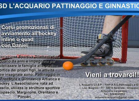 Pattinaggio con L'Acquario Altopascio e gioca ad Hockey o diventa campione di freestyle!