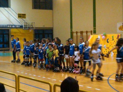 Saggio 2012 : Dimostrazione di fine anno della società sportiva L'Acquario Pattinaggio e Ginnastica