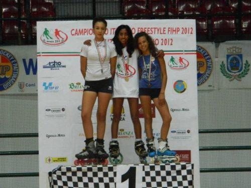 Monza 2012 – Risultati del Campionato Italiano FIHP pattinaggio freestyle – a.s.d L'Acquario 6°!