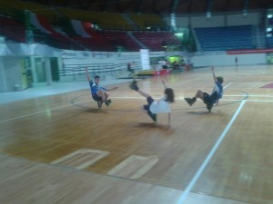Freestyle Nicolas Quiriconi, Federica Sensi e Filippo Sansoni