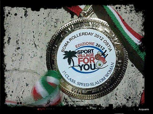 RISULTATI WSSA Roma Roller Days 2012 : Pattinaggio FreeStyle ad Ostia Cristina Rotunno domina lo speed.