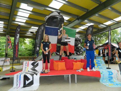 Risultati: Cristina Rotunno vince il Campionato Europeo 2012 freestyle pattinaggio in linea a Berlino