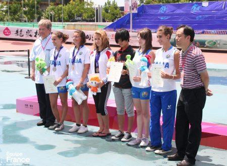 Campionato mondiale di freestyle WFSC : Style Slalom femminile ottimo piazzamento per le azzurre.