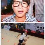 Lishui 2012 Freestyle inline Skater Su Fei Qian