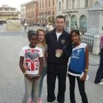 Premio Coni 24 sett 2012 Luca Tesconi con Acquario
