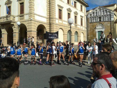 Report : Grande festa dello sport ad Altopascio con asd L'Acquario, freeestyle, ginnastica ed hockey!