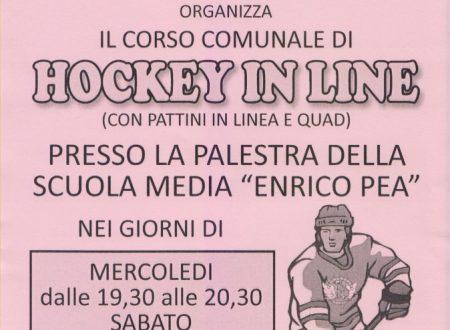 Hockey con L'Acquario a Porcari : partono i corsi comunali di avviamento all'hockey