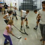Hockey Decathlon bimbi al gioco