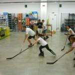 Hockey Decathlon fase di difesa