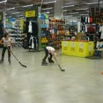 Hockey Decathlon fasi di gioco