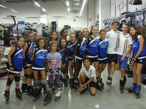 14 Ottobre 2012 – Il Comune di Altopascio festeggia l'Acquario pattinaggio e ginnastica per meriti sportivi 2012.
