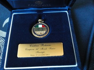 Premio Fihp Rotunno Medaglia Merito Sportivo