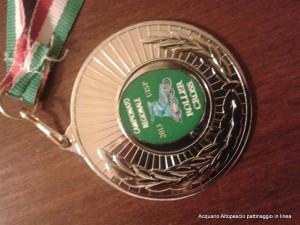 Medaglia Campionato Regionale L'Acquario a Molina