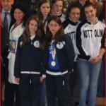 Farulli Chiara e Giannini Eleonora L'acquario pattinaggio Albo d'oro Capannori