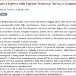 Pegaso D'Oro Cristina Rotunno L'Acquario