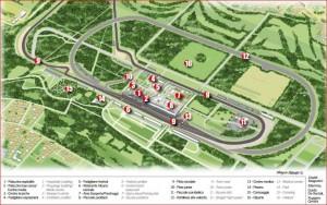 Monza 8 Area Paddock F1