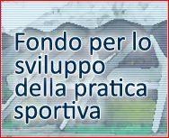 FINANZIAMENTO PUBBLICO A FONDO PERDUTO PER IMPIANTI SPORTIVI 2013