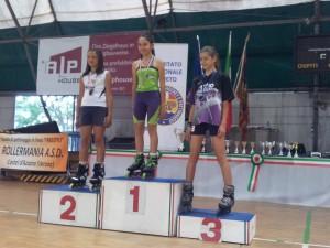 Acquario Pattinaggio freestyl e Tiezzi 2013 Romano Speed Slalom Romano Sveva