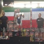 Varsavia 2013 Campionato Europeo freestyle Araujo Nai Oleari Fort