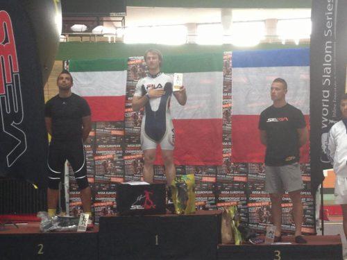 WSSA EFSC ITALIANI VINCENTI AL CAMPIONATO EUROPEO DI PATTINAGGIO IN LINEA SPEED SLALOM MASCHILE A VARSAVIA
