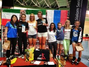 Varsavia 2013 Campionato Europeo freestyle Europeo a Cristina Rotunno