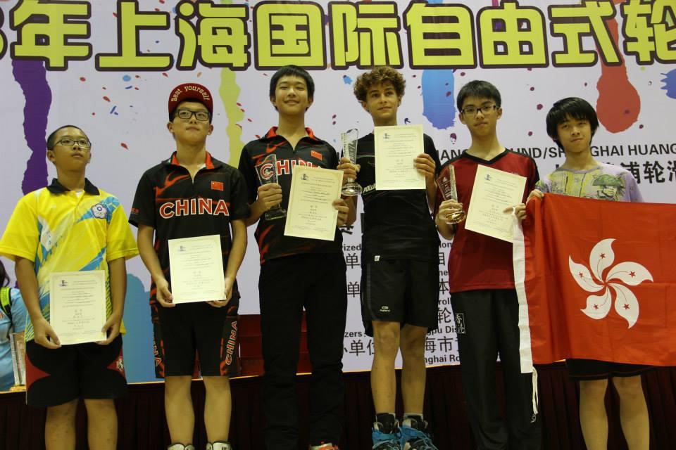 Shanghai Slalom Open 2013 Juniores