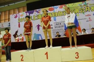 Shanghai Slalom Open 2013 Kunetzova 3°