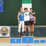 Busto 2013 podio pattinaggio Style Slalom