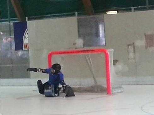 Hockey in linea fasi di difesa