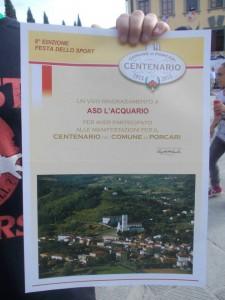 Festa Sport Porcari 2013 Centenario
