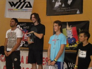 Podio Speed Slalom  Busto Battle 2013 Araujo Brivio Claris Piacentini