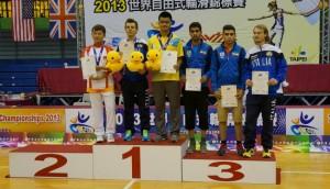 wfsc 2013 Speed Slalom Guo Fang, Piacentini Wu Monsef Motevasel ,Nai Oleari