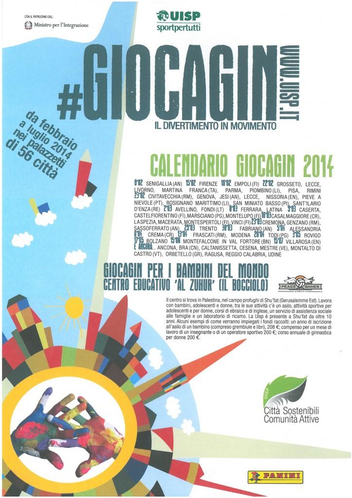 GIOCAGIN 2014 Volantino