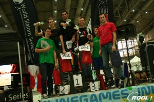 Hannover 2014 Lebois podio Battle maschile