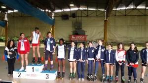 Campionato Regionale 2014 fihp Lucca Rollercross Sorelle Paoli e Berti