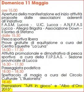 Programma Albo D'oro 2014