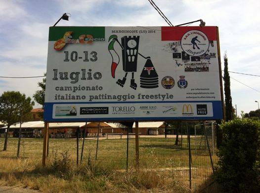 Campionato Italiano Cartellone Pubblicità
