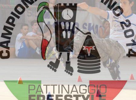 CAMPIONATO ITALIANO PATTINAGGIO FREESTYLE 2014 STYLE SLALOM I QUALIFICATI