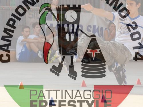 CAMPIONATO ITALIANO PATTINAGGIO FREESTYLE 2014 STYLE SLALOM I QUALIFICATI