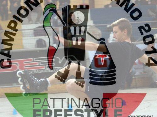 CAMPIONATO ITALIANO DI PATTINAGGIO FREESTYLE 2014 TUTTI AMMESSI ALLA BATTLE!