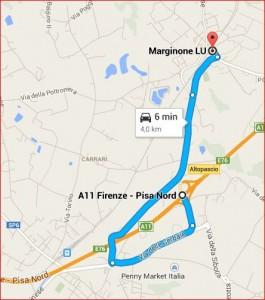 Maps - Da Altopascio a Marginone