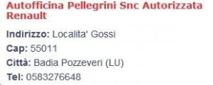 Pellegrini Renault