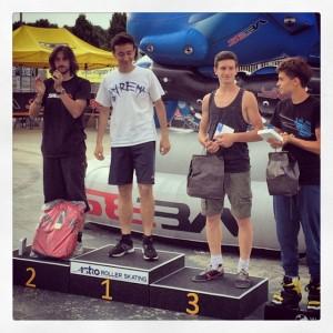 Rollercup2014 - Speed  Maschile - Brivio - Allegrini - Rotunno