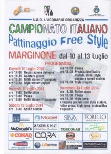 Volantino Campionato Italiano Freestyle 2014