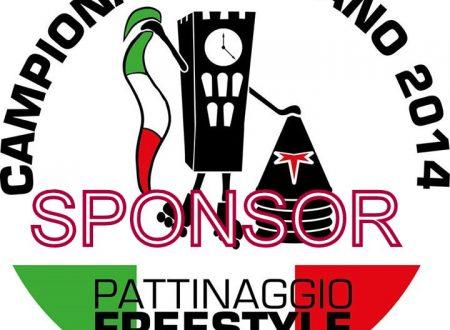 CAMPIONATO ITALIANO FREESTYLE 2014 DI PATTINAGGIO- GLI SPONSOR!!!!
