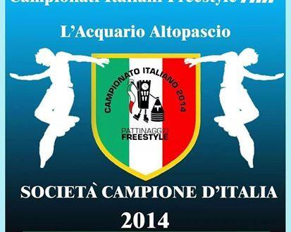 RISULTATI DEL CAMPIONATO ITALIANO FIHP DI PATTINAGGIO FREESTYLE 2014 – L'ACQUARIO VOLA!