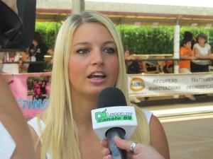 Cristina Rotunno intervista al Campionato di Pattinaggio 2014
